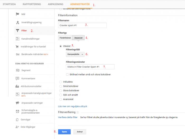 crawler-spam-filter-Analytics