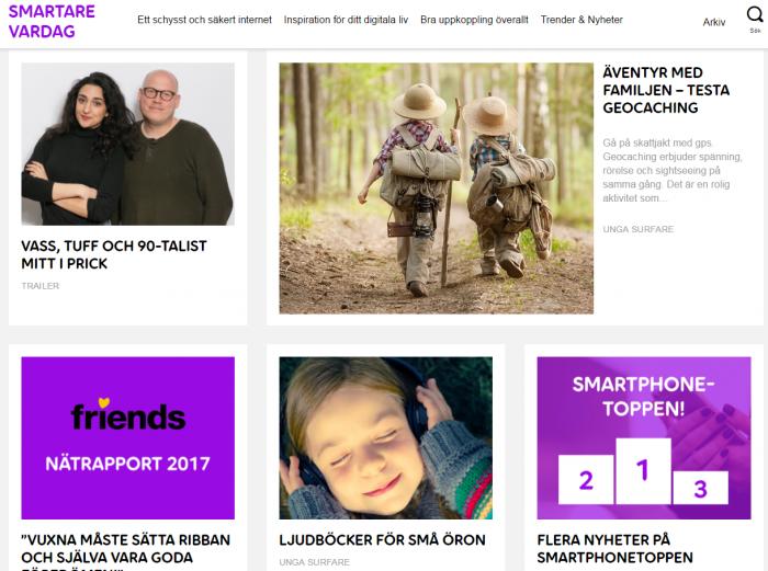 Smartare Vardag Telia Blogg