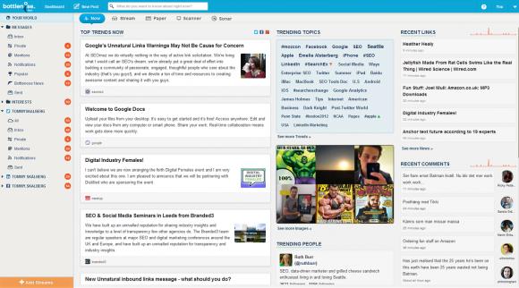 Bottlenose samlar alla nyheter till en plats