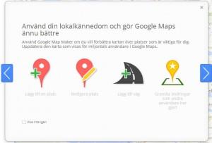 Lägg till plats i Map Maker