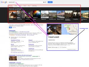 Google Stick SERP