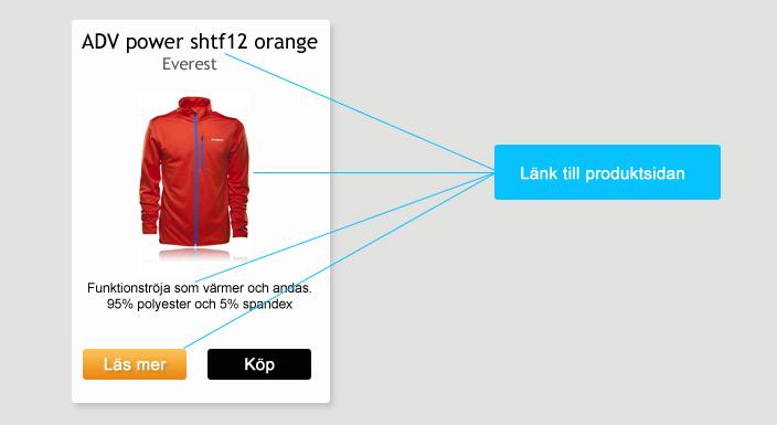 Interna länkar i produktbox