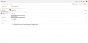 vy från webmaster tool