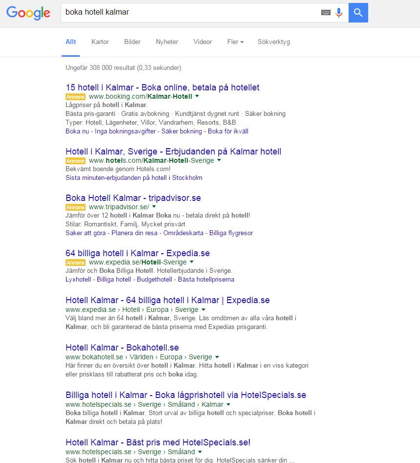 google-serp-fyra-annonser