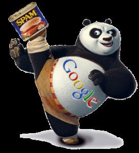 Google Panda fighting spam