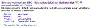 Google +1 knapp