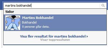 Facebooksök