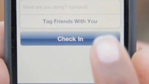 Checka in på Facebook