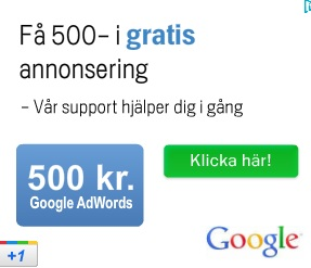 Googles Adwords kampanj