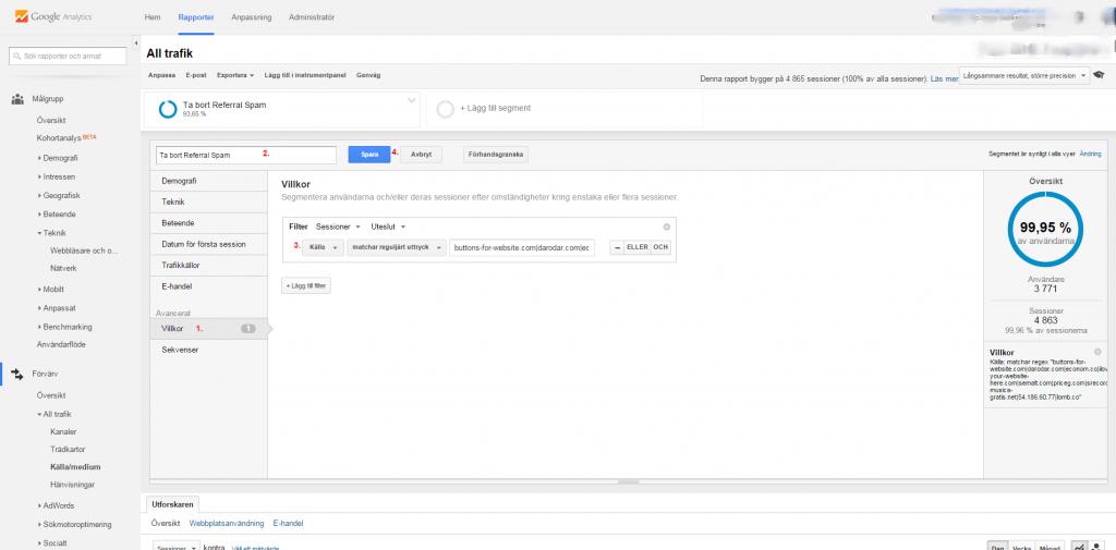 segment-Google Analytics